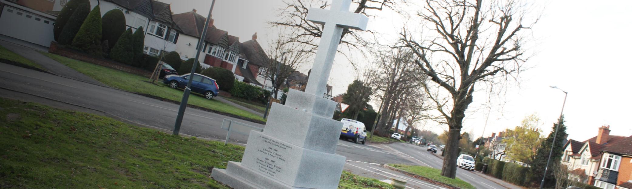 Water Orton war memorial