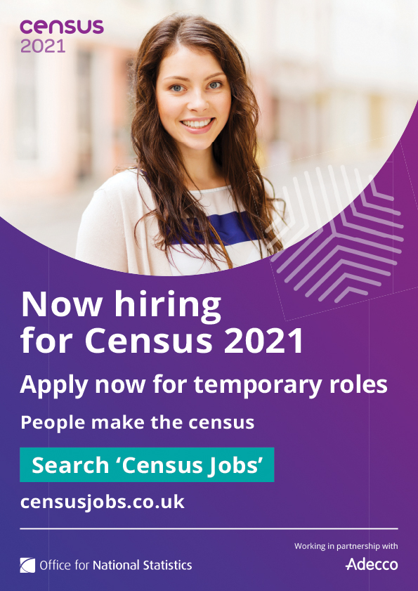 Census 2021 Hiring Students